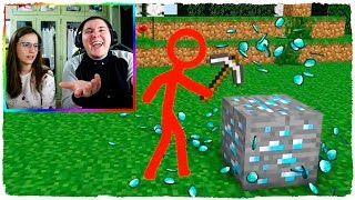 ANIMATION VS REALISTIC MINECRAFT - VIDEO REACTION MINECRAFT