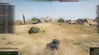 Качаем M48 Patton без голды на USA сервере - часть 1