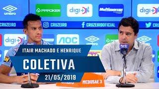 21/05/2019 - Coletiva: Itair Machado e Henrique