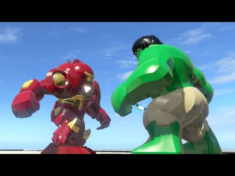 Big Iron Man vs Hulk Hulk vs Iron Man Hulkbuster