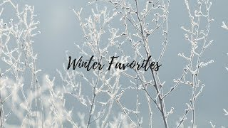 Winter Favorites | Clothing, Home and Music