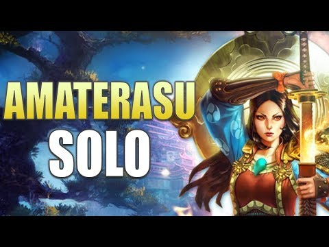 SMITE Ranked Conquest: Amaterasu Solo | Play-by-Play!