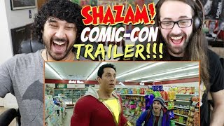 SHAZAM! - Official Teaser TRAILER REACTION & REVIEW!!!