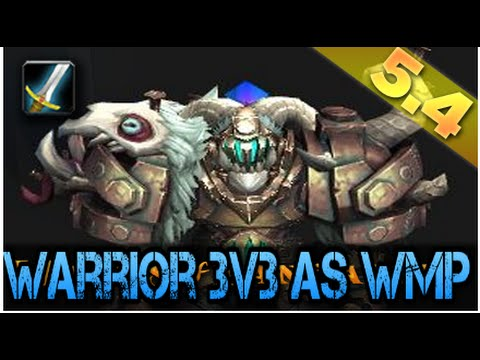 INTenSe WMP Vs Thunder Cleave Warrior PvP - WoW Mop 5.4.8