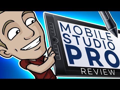 The Ultimate WACOM MOBILE STUDIO PRO Review! (13