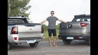 Fiat Toro vs. Renault Duster Oroch - Comparativo de pickups nafteras