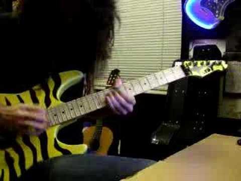 White Lion - Wait guitar solo (Nick Bell)