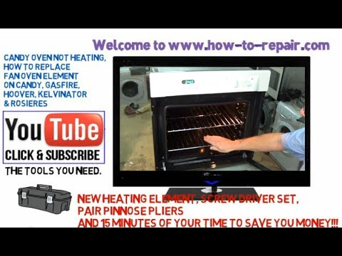 Oven not heating? How to replace a fan oven element Candy. Hoover. Kelvinator and Rosieres cookers