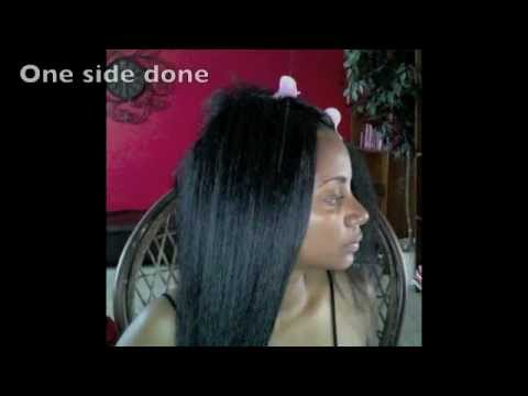 Crochet Straight Hair Youtube : Straight Hair Crochet Braids - YouTube