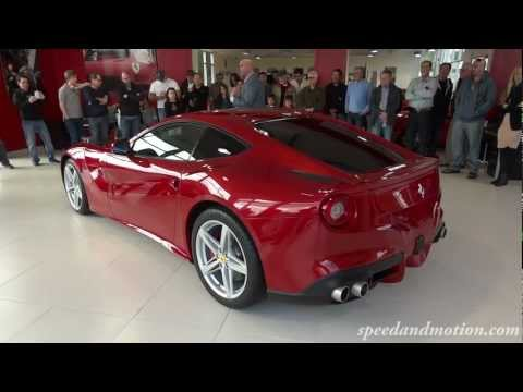 Ferrari F12 Berlinetta unveiling