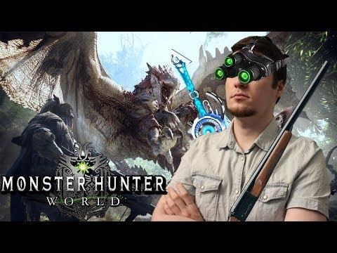 ЧТО ЭТО ЗА Х**НЯ?! Обзор Monster Hunter: World (PS4)