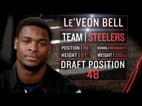 Steelers Le'Veon Bell on Spending Money, Transition to Physical NFL (2013 NFLPA Rookie Premiere)