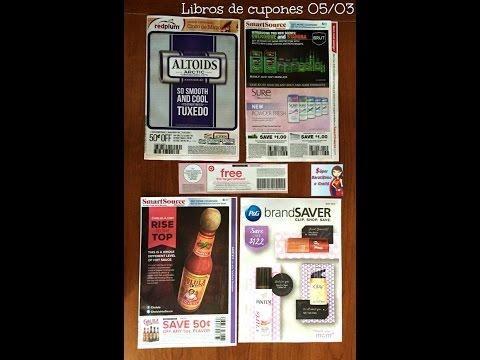 Gratis circulares del periódico del domingo 05/03: Smartsource, Redplum y P&G de Mayo