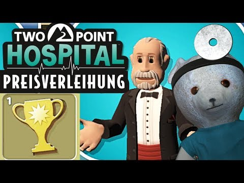 Two Point Hospital deutsch Preisverleihung Two Point Hospital German Gameplay PC #04
