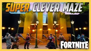 Super Clever Fortnite Creative Maze by JeffVH! Wow. | Swiftor