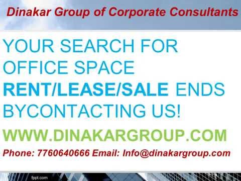 Furnished office space rent Bangalore