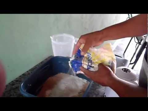 Como preparar massa para pescar curimba com chuverinho