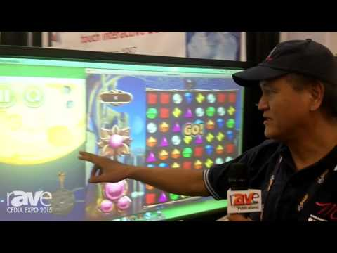 CEDIA 2015: Keytec Shows Its IR-Based Touch Screen Retrofit Solution