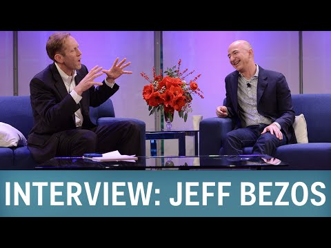 Interview: Amazon CEO Jeff Bezos