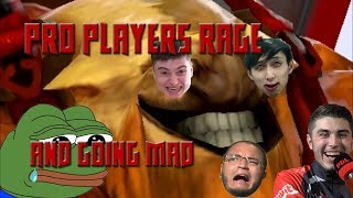Pro players rage and going mad (Dota 2)