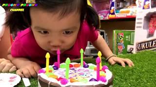 đồ chơi cắt bánh kem hình chú ngựa little pony dành cho trẻ em family phuong phuong toys for kids