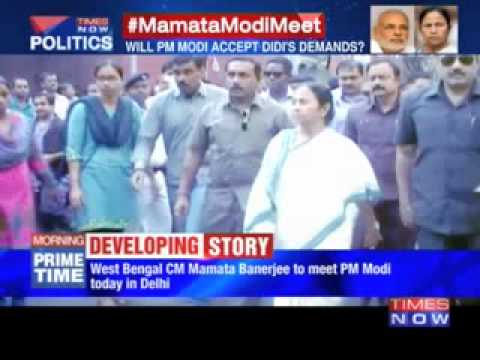 Mamata Banerjee in Delhi to Meet Narendra Modi for Debt Waiver