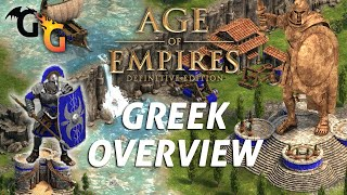 Age of Empires: Definitive Edition. Greek Overview