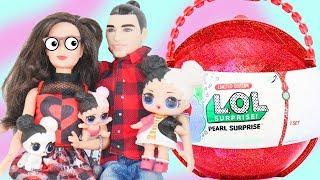 Barbie Girl Doll Becomes Custom HeartBreaker Family for LOL Surprise