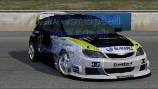 LFS Ken Block Subaru Impreza [better skin]