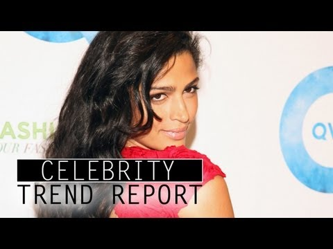 Matthew McConaughey's Gal Camila Alves on Spring Bag Trends - CELEBRITY TREND REPORT