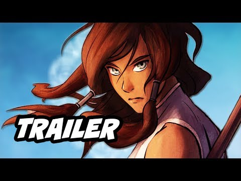 The Legend Of Korra Book 3 Trailer 2 Breakdown and Episode 1 Premiere