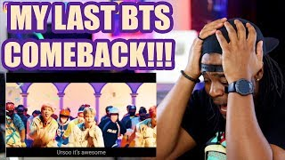 BTS (방탄소년단) 'IDOL' Official MV | MY SECOND AND LAST COMEBACK ☠️💀☠️| REACTION!!!
