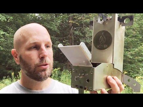Built To Last: Hot Ash Wood Burning Rocket Stove   Camping. Survival. Bushcraft