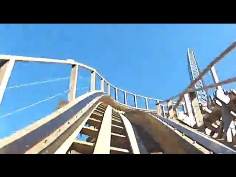 Gold Striker Roller Coaster REAL POV Test Run April 16th California's Great America