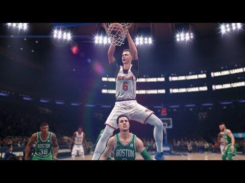 NBA Today 12/21/2017 - Boston Celtics vs New York Knicks Full NBA Game Live - (NBA Live 18)