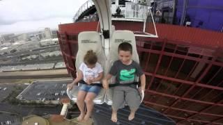 KIDS on VooDoo ZipLine at RIO - Las Vegas