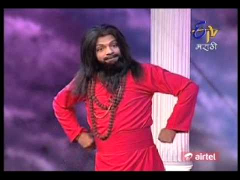 Comedy Express Etv Marathi Chamdi Baba 01 video