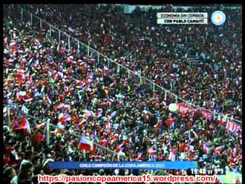 (Relato Emocionante) Chile 0 Argentina 0  (4-1)  (Relato Ernesto Diaz Correa)  Copa America 2015