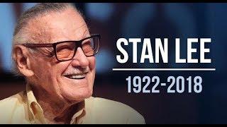 Marvel Film Stars React To Stan Lee's Death ( Robert Downey Jr. , Chris Evans,  Hugh Jackman )