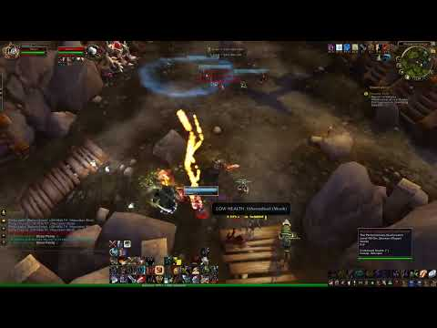 WoW MoP 5.4 - Arms Warrior Bladestorm Battlegrounds