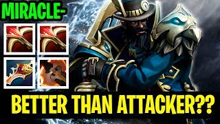 Miracle- Kunkka Better Than Attacker?? - INSANE DAMAGE 7.18 BUILD - Dota 2