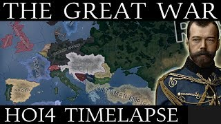 HOI4 Timelapse: The Great War (WW1) 1910-1922