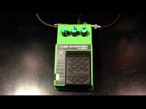 Vintage Ibanez Tube Screamer TS10