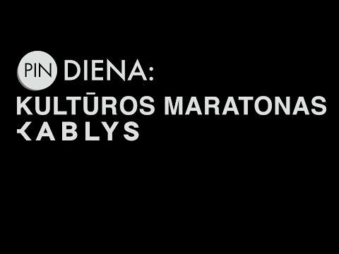 Pin Diena: Kultūros maratonas Kablys 2015