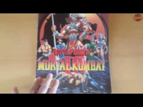Альбом для наклеек Mortal Kombat II