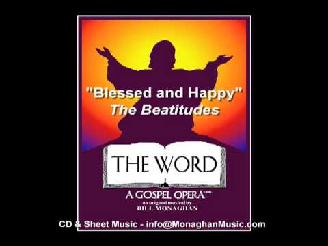 Blessed and Happy CD version by Bill Monaghan and The Word Cast
