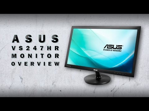ASUS VS247HR Monitor Overview
