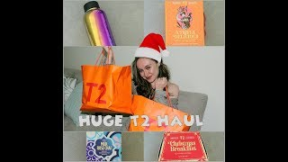 HUGE T2 Tea Christmas Haul - Flossy Finds
