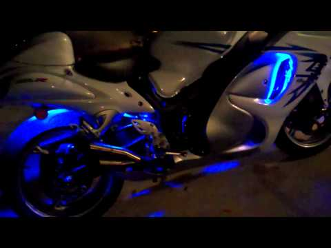 6pc Ice Blue Classic LED Motorcycle Light Kit review from LedGlow.com