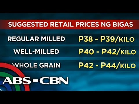 TV Patrol: Bigas, papatawan ng SRP, lilinawin ang mga klase thumbnail